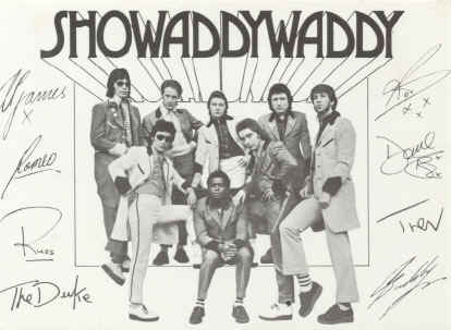 Showaddywaddy photo